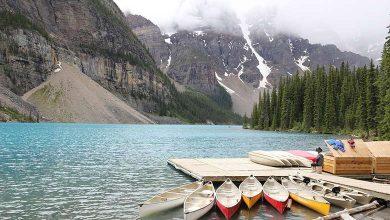 Озеро Морейн Канада