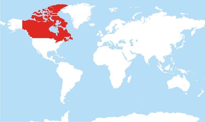 Где находится Канада