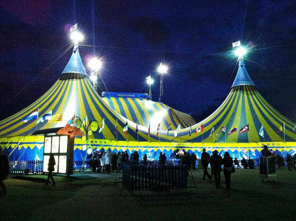 Канадский цирк дю Солей